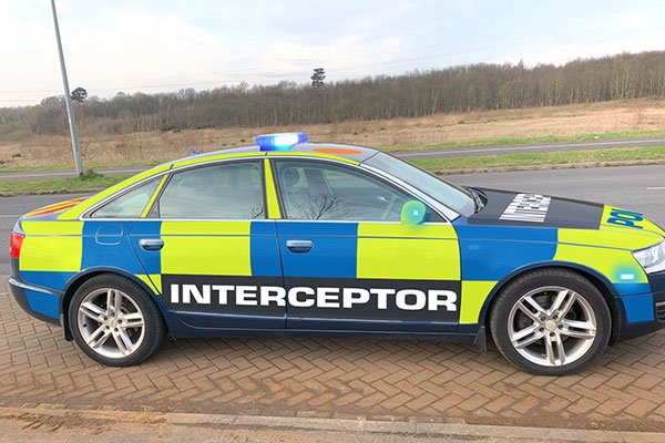 Police Car Thrill Driving Experience 2