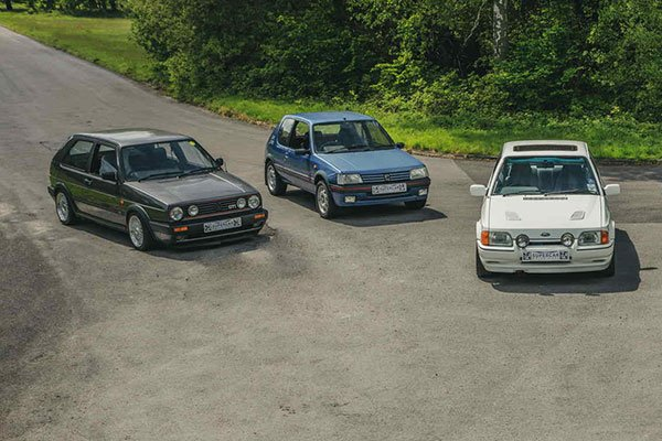 Triple Premium 80's Hot Hatch Blast Driving Experience 1