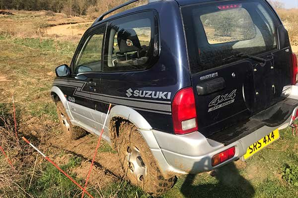 Silverstone 4x4 Off Road Challenge and Half Day Rally Driving Experience 3