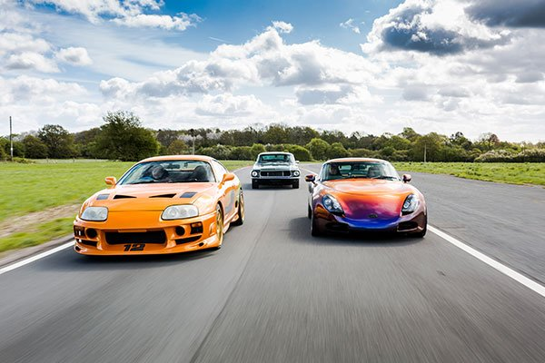 Six Supercar Thrill Driving Experience 1
