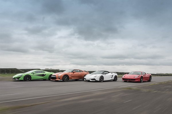 Supercar Platinum Thrill Driving Experience 2