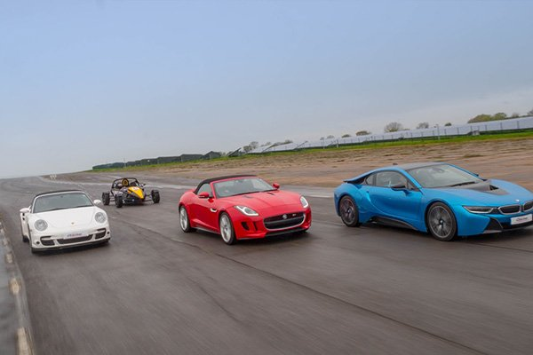 Five Supercar Blast Driving Experience 2
