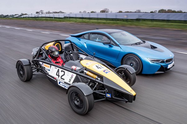 Double Supercar Thrill Driving Experience 1