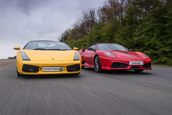 Double Supercar Thrill (Anytime) Driving Experience 1