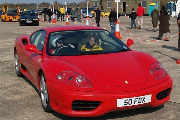 Double Supercar Blast Driving Experience 4