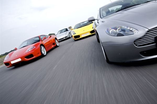 Four Supercar Thrill Experience Driving Experience 1