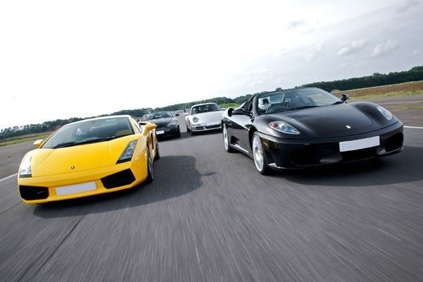 Supercar Four (Anytime) Driving Experience 1