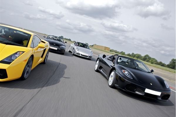 Supercar Treble Driving Experience 1