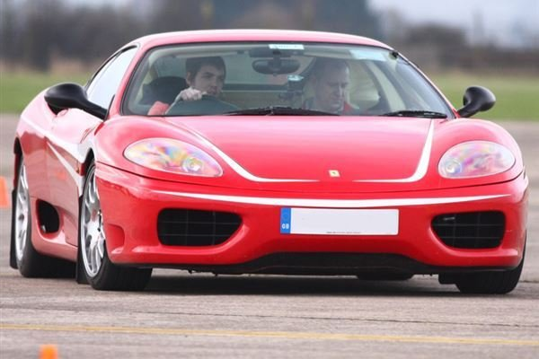 Triple Supercar Thrill with High Speed Passenger Ride Driving Experience 3