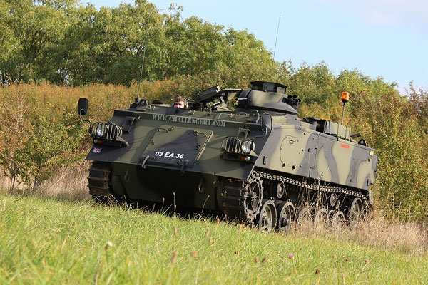 Tank Passenger Ride Driving Experience 1
