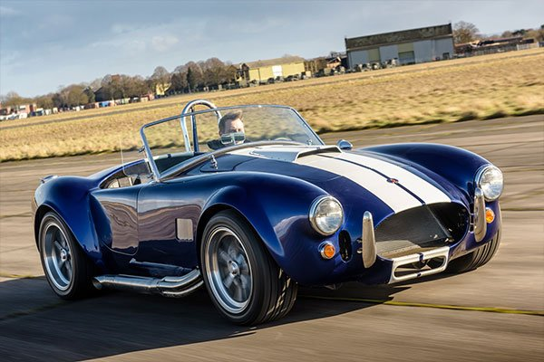 Triple British Classic Blast with High Speed Passenger Ride Driving Experience 2