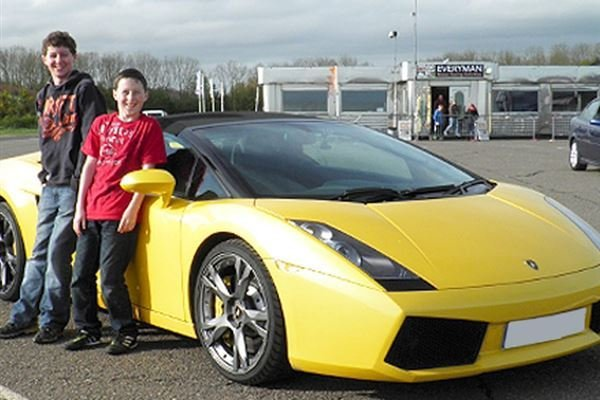 Junior Supercar Treble Offer Driving Experience 1