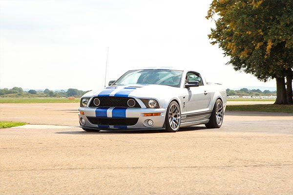 Triple Mustang Thrill Driving Experience 3
