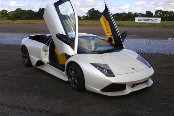 Triple Lamborghini Thrill with High Speed Passenger Ride Driving Experience 2