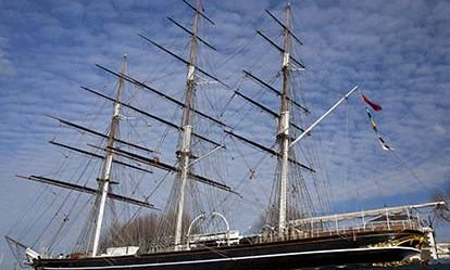 Admission to the Cutty Sark with a Meal for Two 1