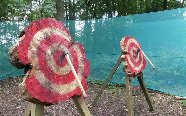 Axe Throwing for Two 1