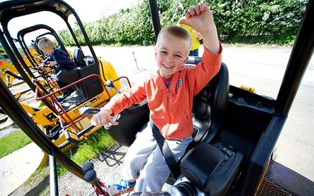 Diggerland Family Ticket for Four 1