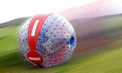 Harness Zorbing for Two 1