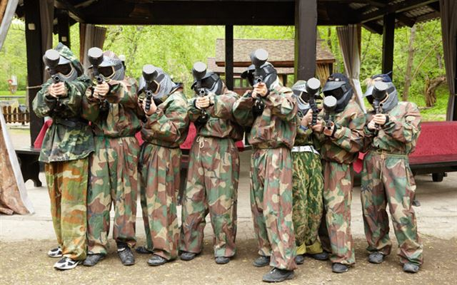 Paintball Entrance for Eight 1