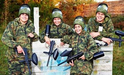 Paintball for Four 1