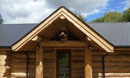 Two Night Stay in a Log Cabin at Badgers Wood Hoo Farm 1