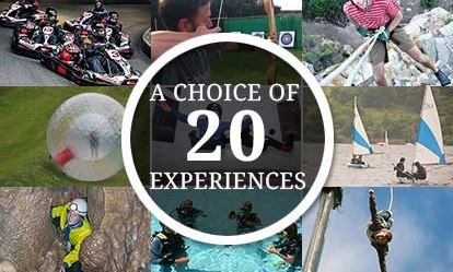 Ultimate Choice for Action  Adventure for Two - Gift Experience Voucher 1