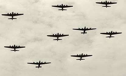 WW2 Bomber Command Flying Mission 1