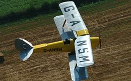 20 Minute Bi-Plane Pilot Lesson For ONE Experience from Trackdays.co.uk