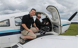 Aeroplane Pilot Land Away Double 2 Flights For TWO Exclusive Experience from Trackdays.co.uk