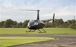 Helicopter Flight with Non-Alcoholic Bubbly  Chocolates for Two Experience from Trackdays.co.uk