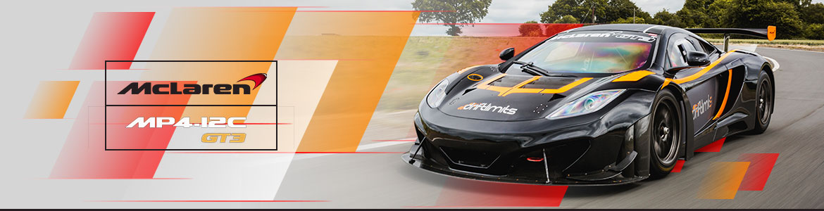 McLaren MP4-12C GT3 Driving Experiences