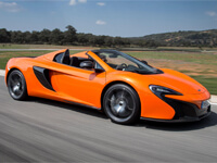 650S Spider Driving Experiences