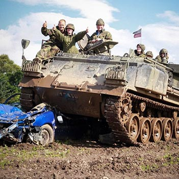 Military Tank Driving Experience Gifts Uk Wide Track Days