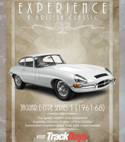 Best Jaguar E-Type Driving Experiences