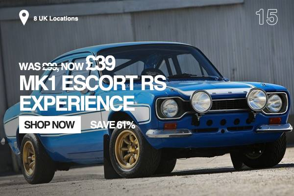 MK1 Escort RS Experience