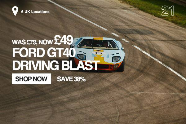 Ford GT40 Driving Blast