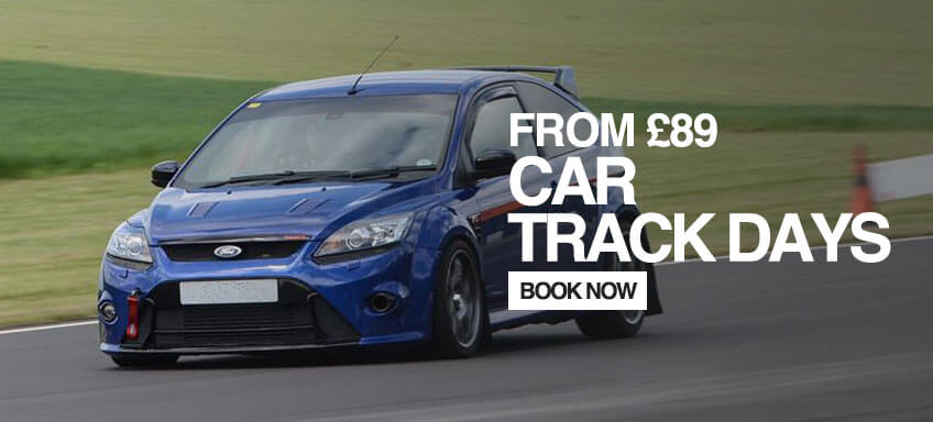 Book a Car Track Day From £109.00