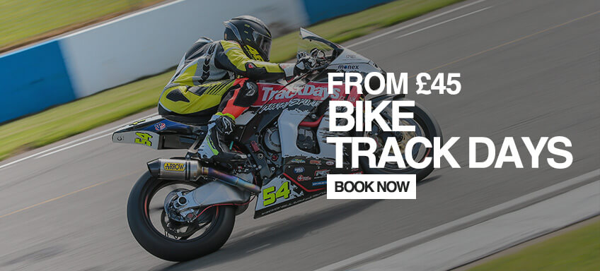 Book a Bike Track Day From £99.00