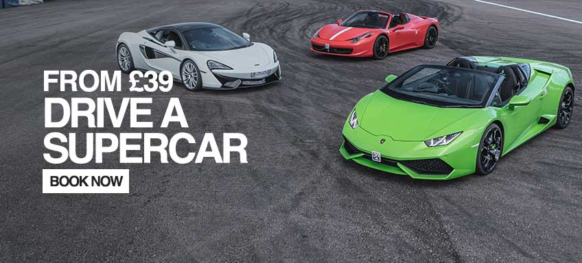 Drive a Super Car from £79.00