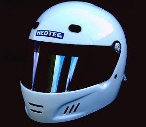 Demon Hans Full Face Track Day Helmet