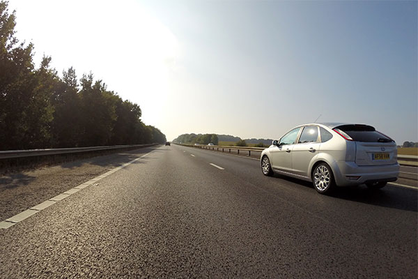 Decline in road accidents caused by aggressive driving   Track Days