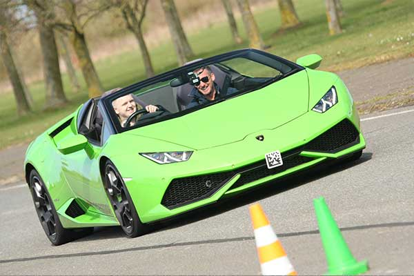 Fast and the curious… now kids are driving Lamborghinis | Track Days
