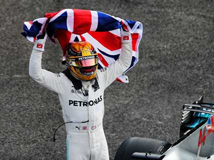 'It feels like I'm in space,' Hamilton reflects on fourth F1 World Championship