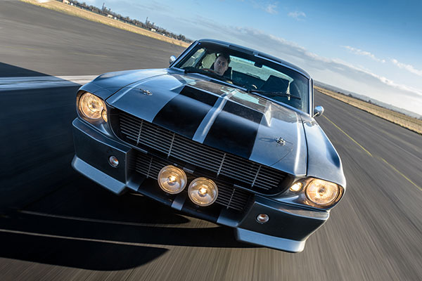 Lights, camera, track action... we reveal the UK's most popular movie cars
