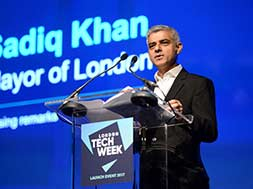 London Mayor Sadiq Khan wants city to host British Grand Prix