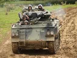 Make war, not love, this Valentine's Day by driving a tank