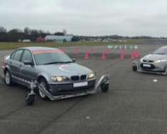 Motorists put in a spin due to adverse weather conditions