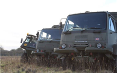 4x4 Army Truck Driving Experience Experience from Trackdays.co.uk