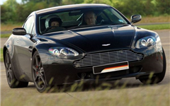 Aston Martin V8                                                                                                                                        Experience from Trackdays.co.uk