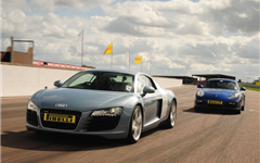 Audi R8 vs Porsche Cayman Experience from Trackdays.co.uk